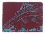 Eiffel Tower Prints by  NaxArt