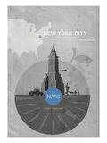 Nyc Poster Prints by  NaxArt