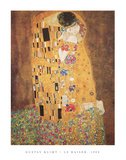 The Kiss (Le Baiser), c.1907 Poster von Gustav Klimt