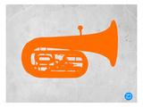 Orange Tuba 2 Prints by  NaxArt