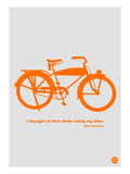 I Thought Of That While Riding My Bike Posters by  NaxArt