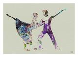 Ballet Watercolor 2 Láminas por  NaxArt
