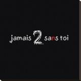 Jamais II Kunstdruk op gespannen doek van Audrey & Fabrice Cilpa