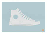 White Shoe Posters by  NaxArt