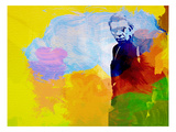 Steve Mcqueen Print by  NaxArt