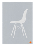 Eames White Chair Posters by  NaxArt