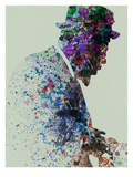 Thelonious Monk Watercolor 1 Poster by  NaxArt