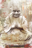 Buddhist Monk Plakáty