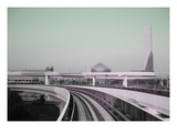 Tokyo Train Ride 2 Print by  NaxArt