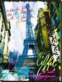 Magique EiffelFds Kunst op gespannen canvas van  Kaly