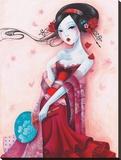 Uchiwa Reproduction sur toile tendue par  Sybile