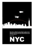New York Night Poster Kunstdrucke von  NaxArt