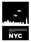 New York Night Poster Prints by  NaxArt