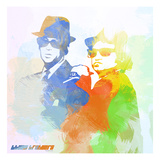 Blues Brothers Print by  NaxArt