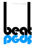 Beat Poster Prints by  NaxArt
