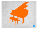 Orange Piano Poster by  NaxArt
