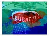 Bugatti Grill Print by  NaxArt