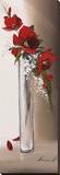 Hauteurs Florales I Reproduction transférée sur toile par Olivier Tramoni