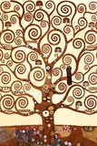 Gustav Klimt - Hayat Ağacı, Stoclet Frieze, 1909 (detay) - Reprodüksiyon