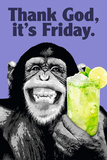 The Chimp-Friday Kunstdrucke