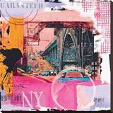 Guaranteed NYC Bedruckte aufgespannte Leinwand von Vincent Gachaga