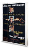 Goldfinger Excitement Wood Sign