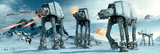 Star Wars-Hoth Kunstdruck