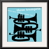 Three Trumpets Prints