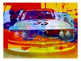 Une BMW de course : aquarelle Posters par  NaxArt