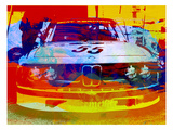 Bmw Racing Watercolor Premium Giclee Print by  NaxArt