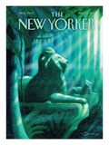 The New Yorker Cover - May 23, 2011 Regular Giclee Print by Eric Drooker