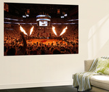 Miami, FL - June 17: General view of the arena before Game Three of the 2012 NBA Finals Wall Mural by Joe Murphy