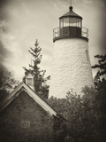 The Dice Head Lighthouse in Maine Reproduction photographique par Robbie George