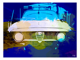 Alfa Romeo Watercolor Poster by  NaxArt