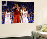 Oklahoma City, OK - June 12: LeBron James Reproduction murale géante par Ronald Martinez