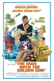James Bond-Man with the Golden Gun Affiches