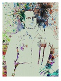 Paul Newman Watercolor Prints by  NaxArt
