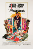 James Bond-Live and Let Die Poster