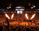 Miami, FL - June 17: General view of the arena before Game Three of the 2012 NBA Finals Photographic Print by Joe Murphy
