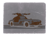 Mercedes Benz 300 Print by  NaxArt