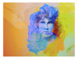 Jim Morrison Prints by  NaxArt