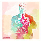 Alfred Hitchcock Art by  NaxArt