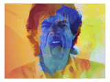 Mick Jagger Art by  NaxArt