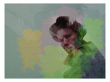Tom Waits Poster von  NaxArt