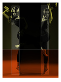 Dancing Mirrors Prints by  NaxArt