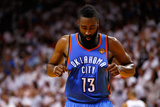 Miami, FL - June 17: James Harden Photographic Print by Mike Ehrmann