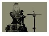 Drummer Print by  NaxArt