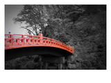 Nikko Red Bridge Print by  NaxArt