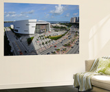 Miami, FL - June 17: General view of American Airlines Arena prior to the start between the Oklahom Reproduction murale géante par David Dow