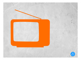 Orange Tv Vintage Posters by  NaxArt